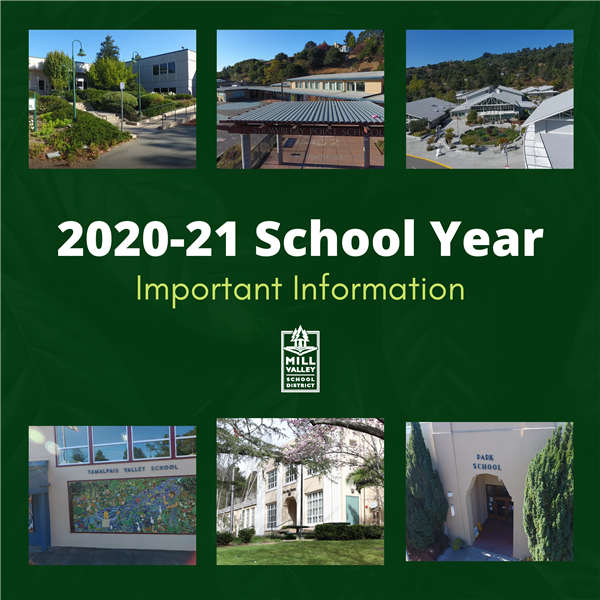 2020-21 school year important information