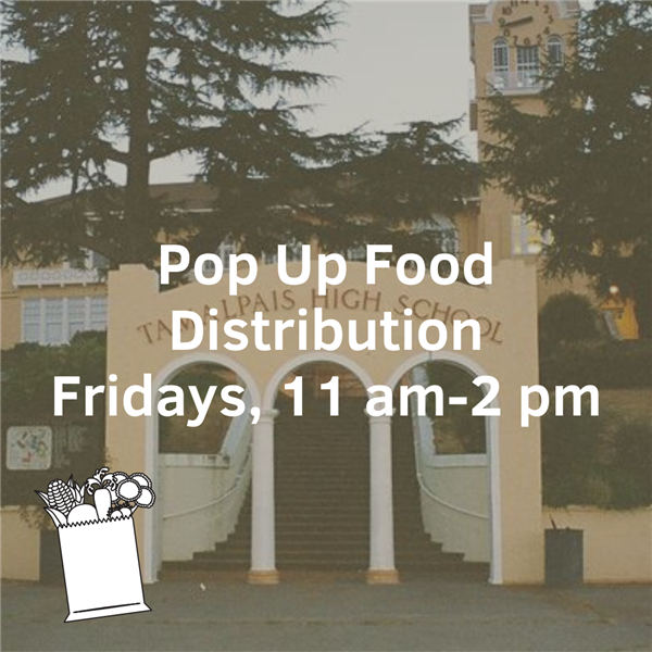 Pop Up Food Pantry Distribution Fridays 11am-2pm