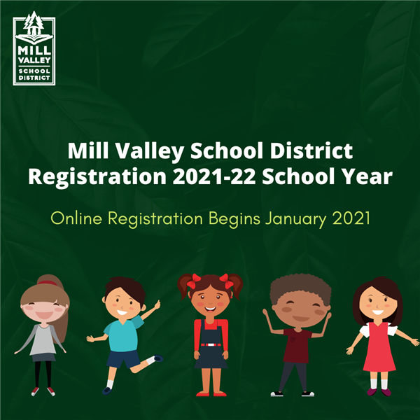 registration for the 2021-22 school year begins in January