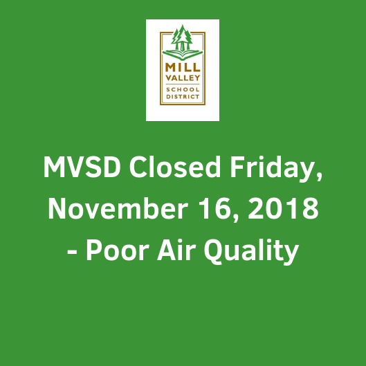 MVSD Schools Closed Tomorrow, Friday, November 16, 2018