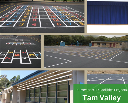Tam Valley summer facility projects photo collage