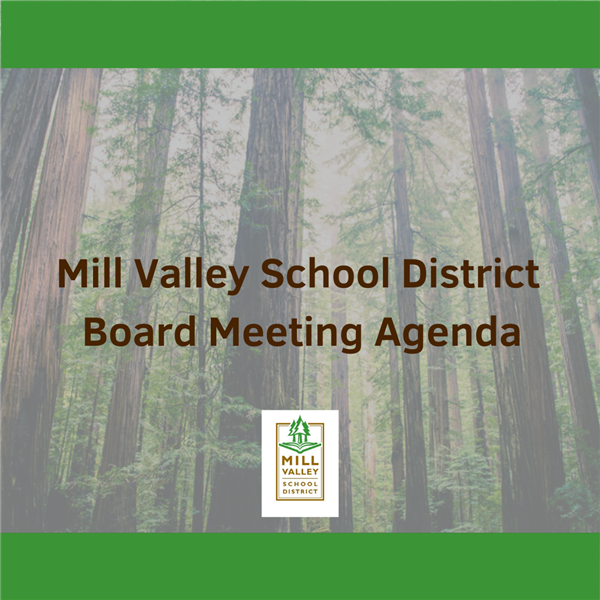 Mill Valley School District Board Agenda