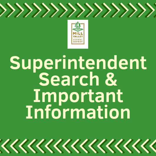 Superintendent Search & Important Info