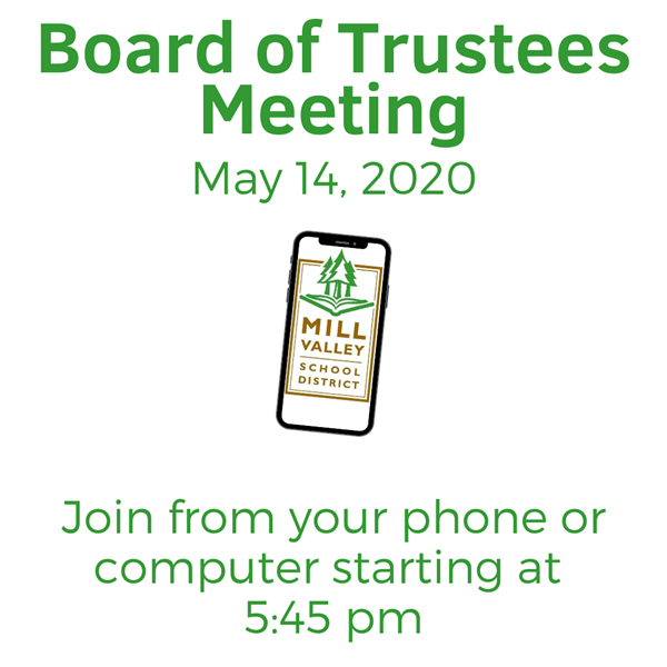 Remote Board Meeting May 14 6pm