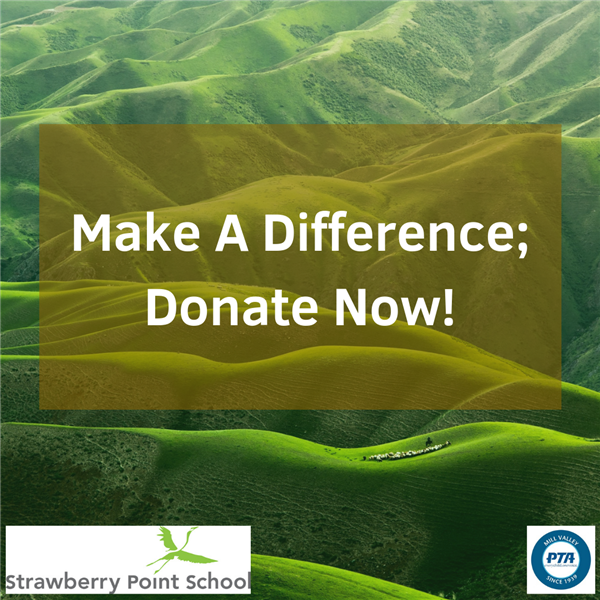 Make a Difference; Donate Now!