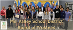 8th grade students recognized by school board
