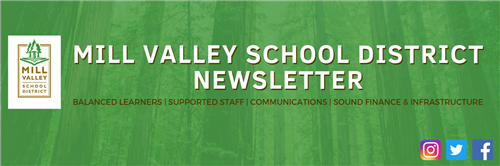 Mill Valley School District Newsletter