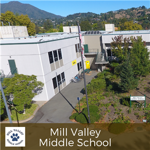 Mill Valley Middle School campus