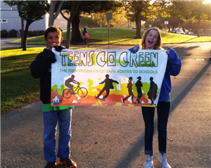 Teens Go Green Students
