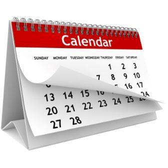 Academic Calendars - Links on the Left